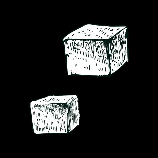 Gravure sucre de canne isautier