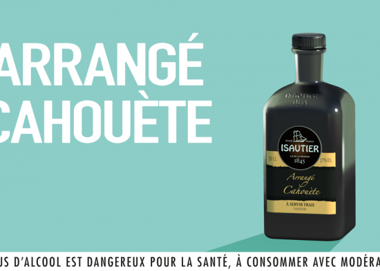 CAHOUÈTE FLAVOURED RUM: THE NEW REFERENCE PRODUCT OF THE ISAUTIER RANGE