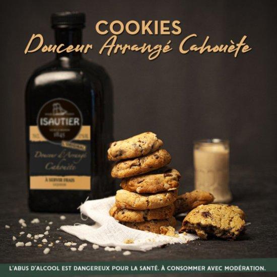 Cookies à la douceur d'arrangé cahouète