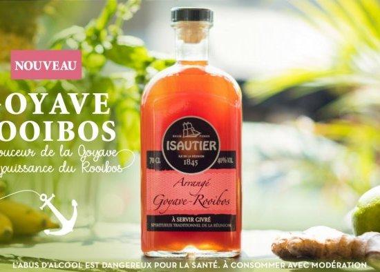Goyave-Rooibos : l'innovation réunionnaise s'exprime dans le nouvel arrangé de la maison Isautier