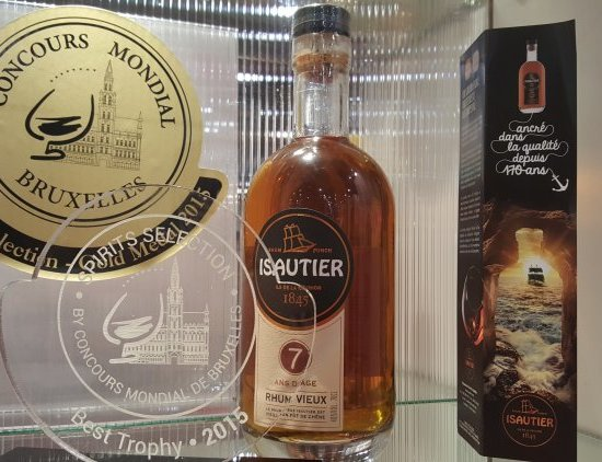 ISAUTIER NOW RECOGNISED AS ONE OF THE BEST RUMS IN THE WORLD !