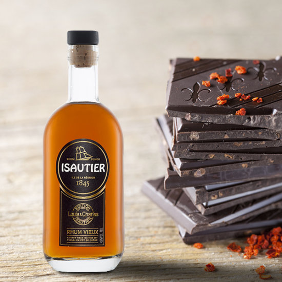 AGED RUM AND CHOCOLATE !