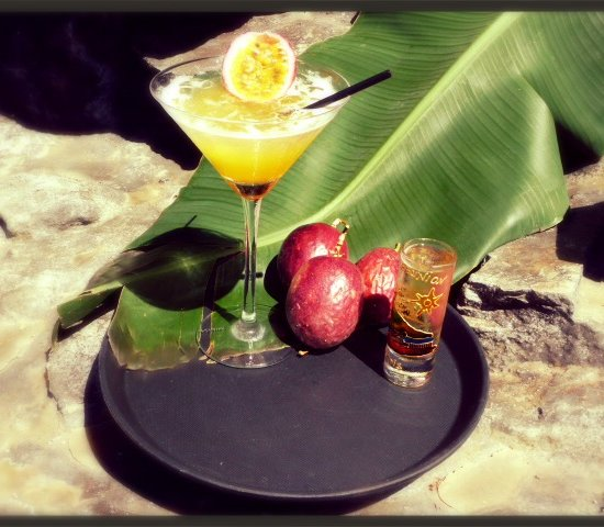 ISAUTIER WHITE RUM & CHAMPAGNE : THE PASSION STAR