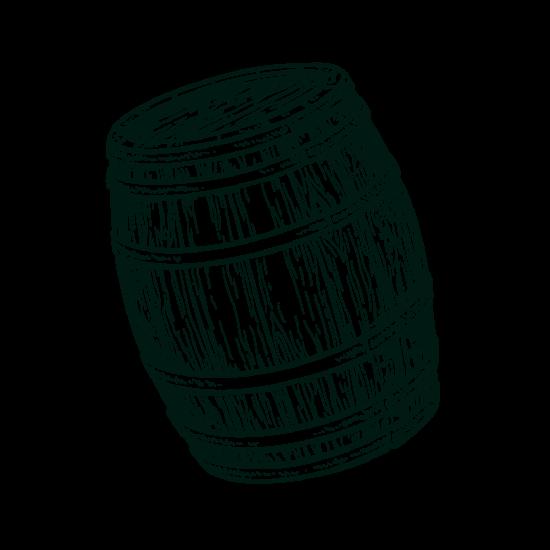 Gravure fût de chêne isautier