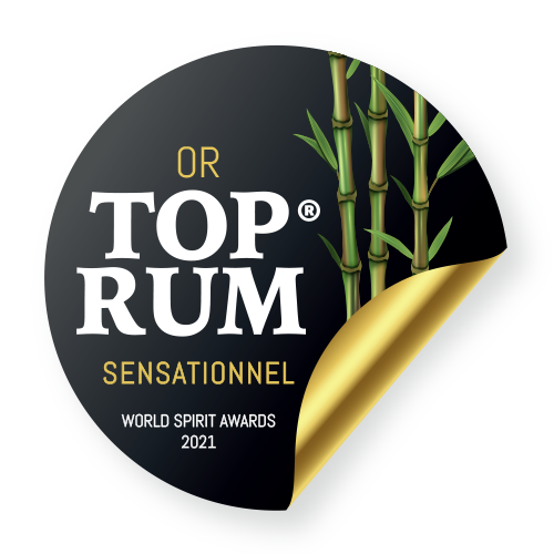 Récompense Top Rum Sensationel or 2021