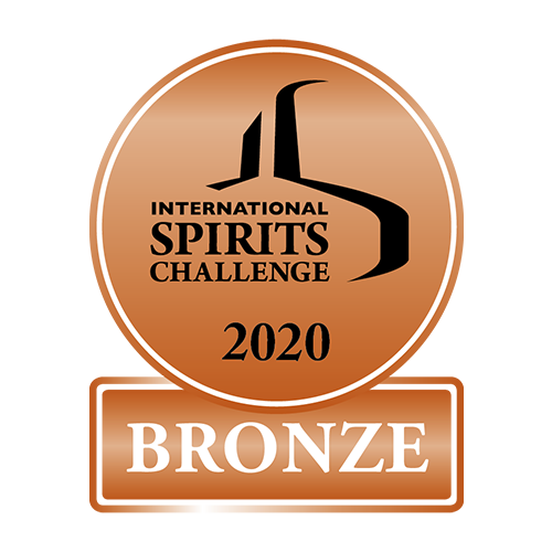 Récompense International Spirits Challenge 2020 bronze