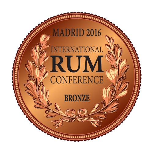 Récompense International Rum Conference bronze Madrid 2016
