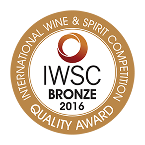 Récompense IWSC bronze 2016