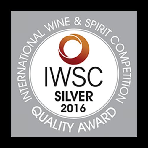 Récompense IWSC silver 2016