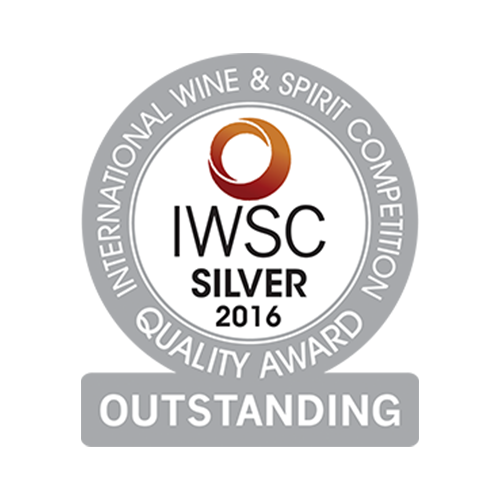 Récompense IWSC silver 2016 Outstanding
