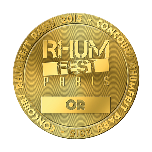 Récompenses Rhum Fest Paris or 2015