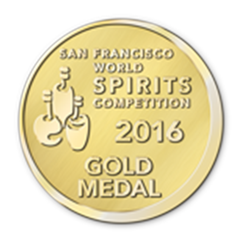 Récompenses San Francisco World Spirits Competition Gold Medal 2016