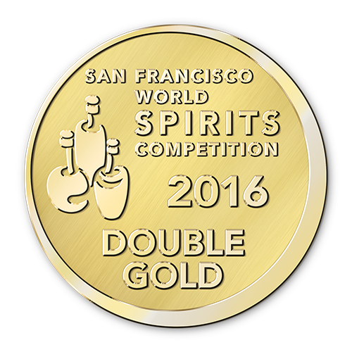 Récompense San Francisco World Spirits competition 2016 double gold