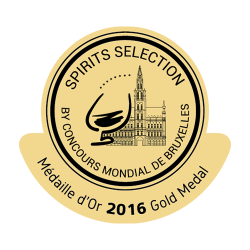 Récompense Spirits Selection Or 2016
