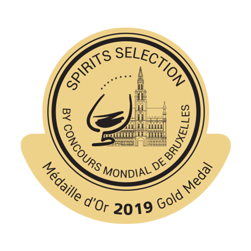 Récompense Spirits Selection or 2019