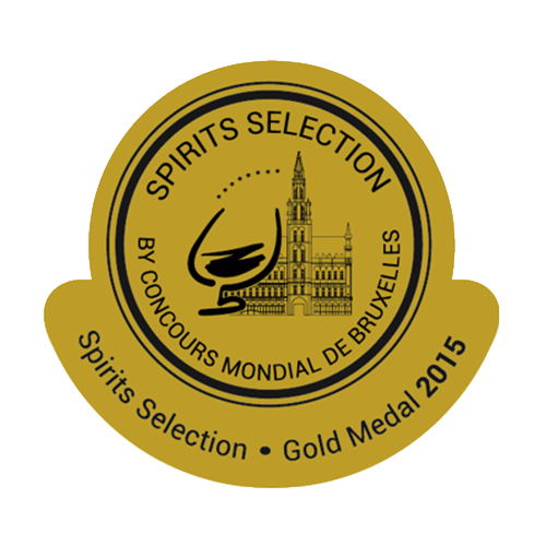 Récompense Spirits Selection Or 2015