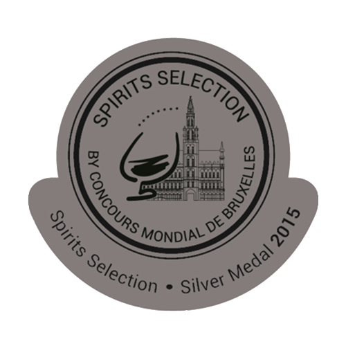 Récompense Spirit selection silver medal 2015