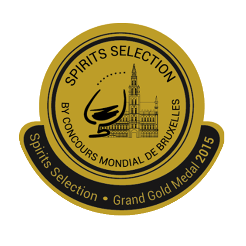 Récompenses Spirits Selection Grand Gold Medal 2015