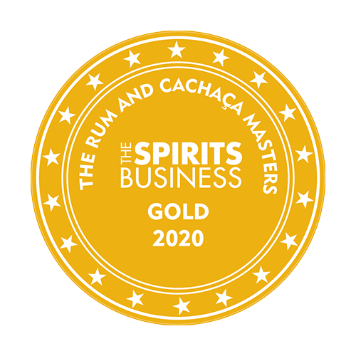 Récompenses The Rum and Cachaça Masters Gold 2020