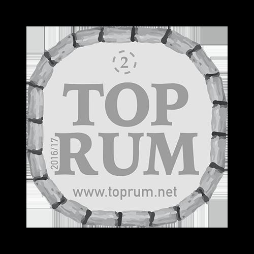 Récompense Top Rum argent 2016-2017