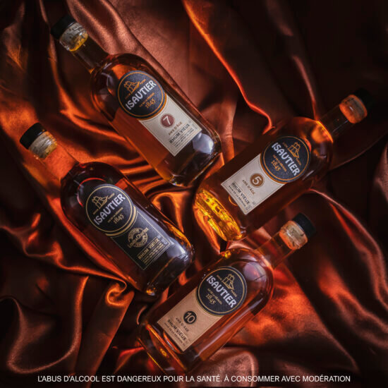 Isautier old rum production: A rich process